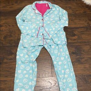Blue Pajama Set